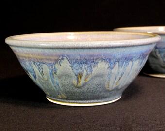 Dessert Bowl - Blue Sauce Bowl - Ice Cream Bowl - Serving Bowl - Condiment Bowl - Dipping Bowl - Dessert Dish - Sauce Dish - In Stock
