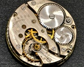 CROWN MOVEMENT Pocket Watch Gears Parts Hunting Pendant Dial Steampunk Jewelry Supplies