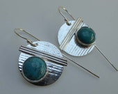 Silver Turquoise Reserved for Linda F