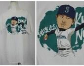 Kuma No-No | Hisashi Iwakuma Seattle Mariners Commemorative No Hitter T-Shirt | Aug 12 Ltd Edition 100% Cotton | Unisex Med Lg