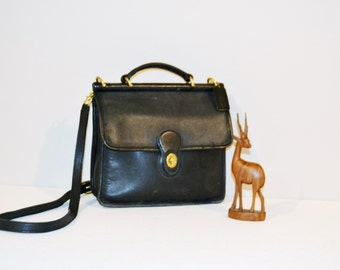 Vintage Coach Willis Shoulder / Handbag
