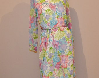 Vintage Pastel Pretty Dress Spring / Summer