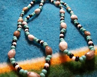 Cherokee Tear Necklace-Job's Tears