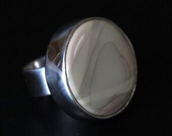 Smoke Rings Sterling Silver Ring
