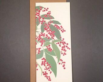 Winterberry Vertical Card Set