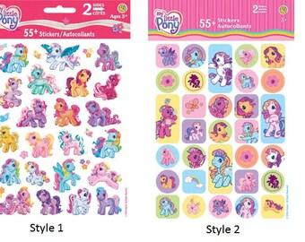 My Little Pony Stickers - Choose Style | Horses | Girls Stickers | Cartoon | Scrapbook