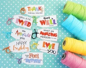 8 Random Acts of Kindness Treat Tags / Treats for Friends / You're Appreciated Card / Visit Teaching /Teacher Appreciation Gift Tags