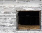 Barn Window Photograph by Kristen DeFontes