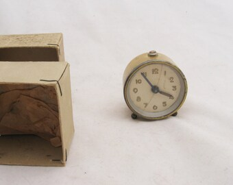 Antique Brevet travel alarm clock