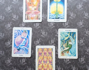 Tarot Card Reading - Breaking Habits and Patterns - Falling Star Rising Star Qabalic Thoth Tarot