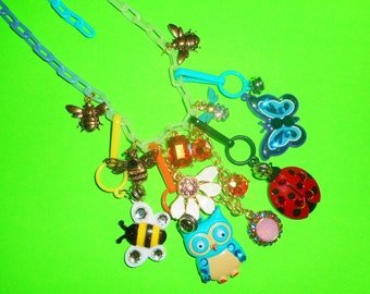 Glitter Critter Charm Necklace