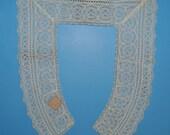 Antique Lace Collar Unused with Original Tag