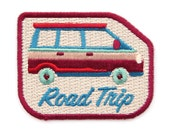 Road Trip Iron On Patch