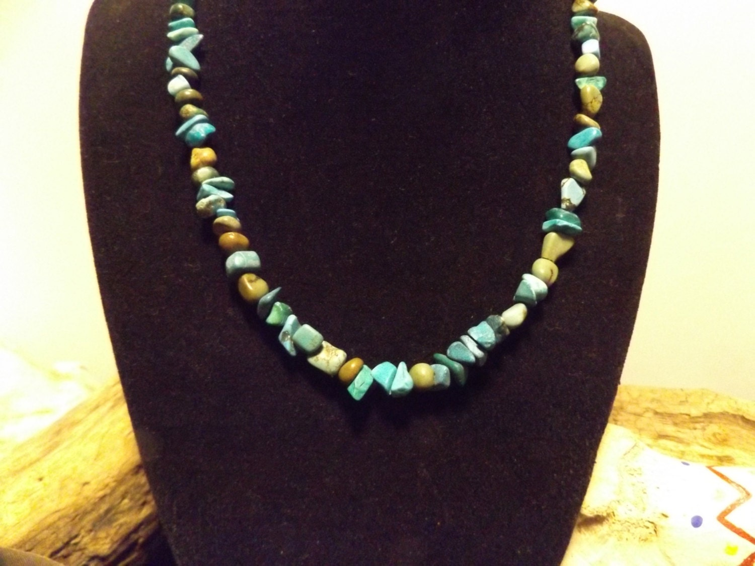 Turquoise Healing Necklace Healing Crystal Jewelry Healing