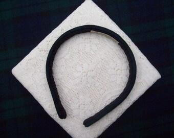 blackwatch plaid hairband
