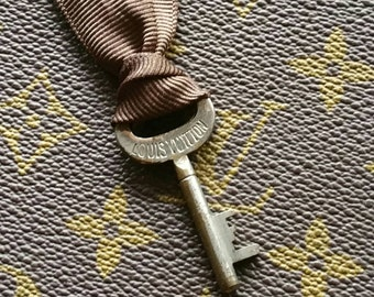 Vintage Louis Vuitton trunk key