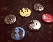 Paper cut Buttons!