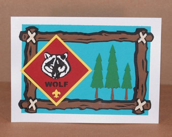 Wolf Scout - Boy Scout card (1)
