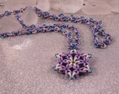 Snowflake Rosette Necklace