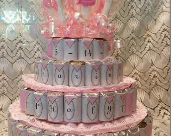 Communion Cake, Communion 4 tier candy cake, Candy cake for communion