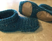 Soled Slipper Socks, chunky