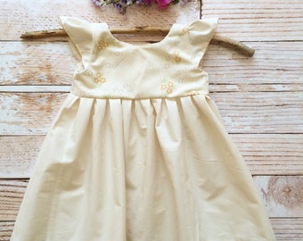 Boho baby one year old girl birthday outfit clothes boho baby organic hippy hippie baby bohemian baby first birthday party flower girl dress