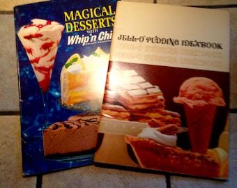 Jello Pudding Idea Book and Magical Desserts Recipe Books