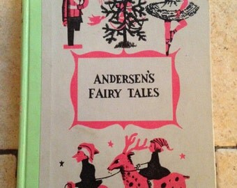 1956 Andersen's Fairy Tale Junior Deluxe Edition Children's Book