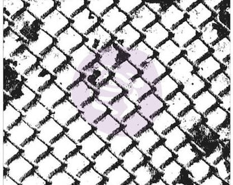 Wire Net Clear Stamp - Finnabair by Prima