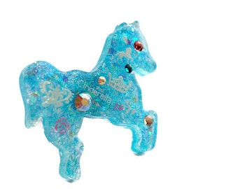 Pony ring, resin ring, lolita jewelry, Cinderella, statement ring, sweet lolita, lolita fashion, Harajuku, Japanese fashion, animal jewelry