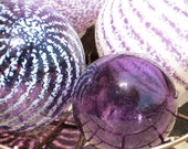 Purple and White Floats, ...
