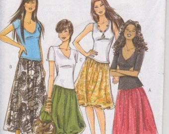 Butterick 5042 Misses' Skirts Sizes 6, 8, 10, 12 UNCUT Pattern Easy Pattern Rare and OOP