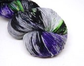 "Acoustic Sock Yarn - ""Creatures"" - Handpainted Superwash Merino - 400 Yards"