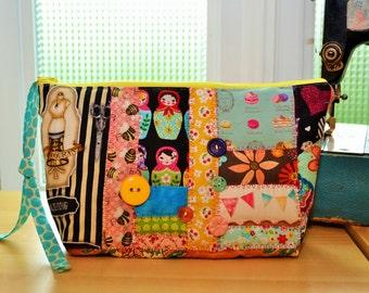 padded toilet bag, makeup bag, pencil bag, pouch organization, pen, cosmetic bag, patchwork bag, gift girl,cosmetic bag,bagpencil,gift,dress