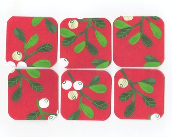 SALE Christmas Mini Note Cards (set of 6) CMN6 / Ready To Ship