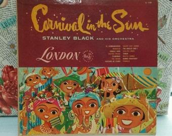 carnival in the sun vinyl  record