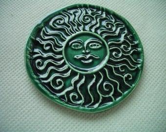 ESL -  INTRICATE SUN - Ceramic Wall Decor