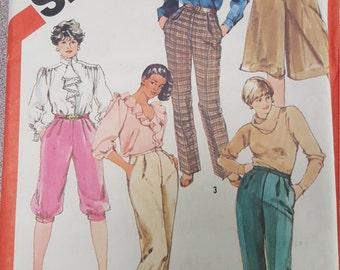 Slacks Walking Shorts Knickers Culottes 22-1/2 simplicity 5620