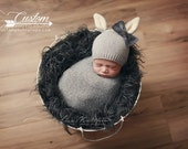 RTS Dark Gray Hypoallergenic & Washable Vegan Faux Flokati, CharCoaL Gray Sheep BaSkeT Stuffer Fur Newborn Baby Photo Props, Fake Fur