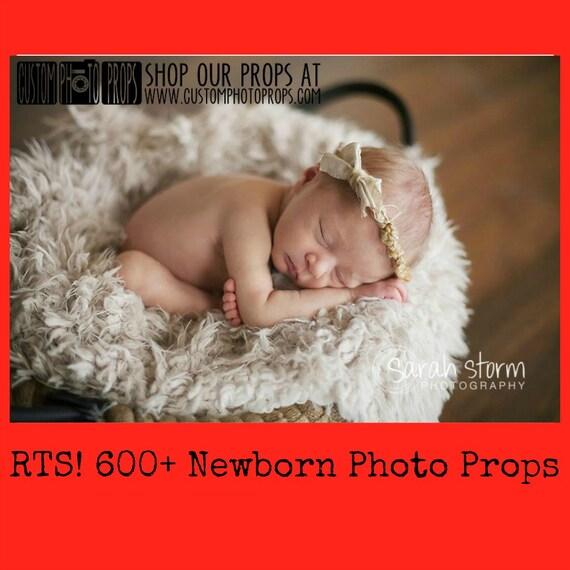 RTS Newborn Props, * 40 Color Options * Short Faux Fur Newborn Photo Props, Artificial Fur, Newborn Baby Photography Props, Basket StuFfeR