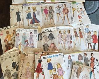 Lot 28 Vintage Sewing Patterns Vogue MCCall Simplicity Butterick Advance