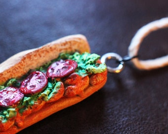 Shrimp Po-Boy necklace New Orleans sandwich