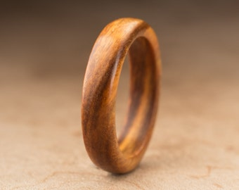 Size 8.5 - Guayacan Wood Ring No. 392