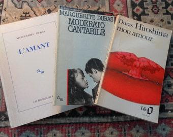 Trio of Marguerite Duras Novels