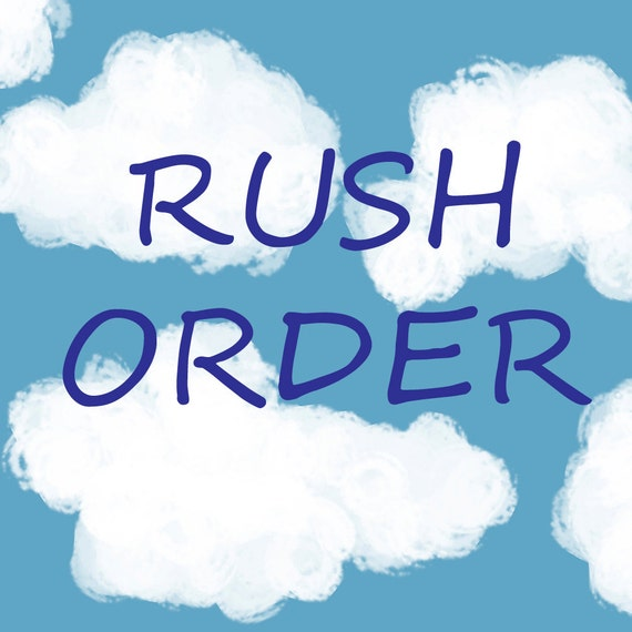 Rush order - Personalized Baby Blanket - Minky Baby Blanket