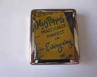 Mary Poppins Measuring Tape  8 Day Pill Box