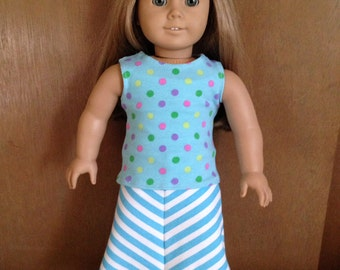 American Girl doll clothes Trendy Maxi skirt and tank top