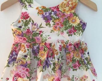Nora Floral  Peplum Top