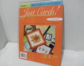 Just Cards Magazine - Volume 2 - 300+ Cards - 2006