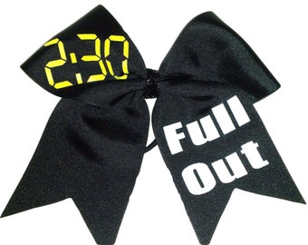 2:30 Full Out Cheer Hair Bow